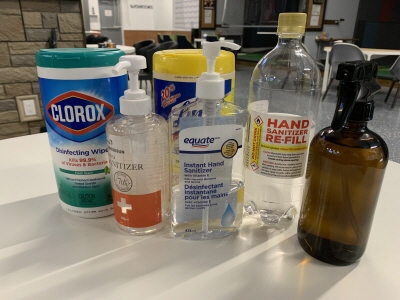 Sanitizers for Customer